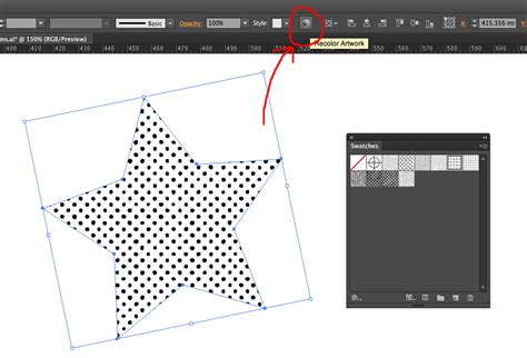 add pattern swatch to illustrator texture how to recolor a vector pattern swatch in