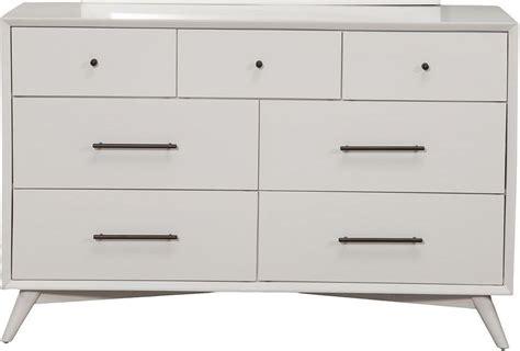 7 Drawer Dresser White by Flynn White 7 Drawer Dresser From Alpine Coleman Furniture
