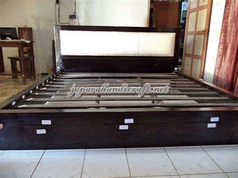 Mate Black Bunkbed Jati Jepara dijual tempat tidur minimalis jati jepang harga murah