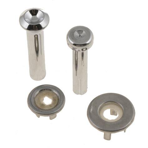 Plastic Door Knobs by Dorman 75398 Door Lock Knobs Plastic Chrome Pair Ebay