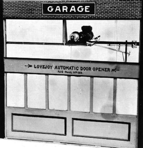 Who Invented The Garage Door Opener by Elmer Lovejoy Inventor Extraordinaire Cavalryman