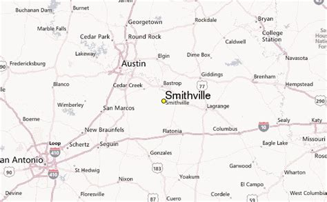 smithville weather station record historical weather for