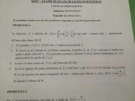test di ingresso informatica tracce ufficiali maturita 2013 seconda prova esami di