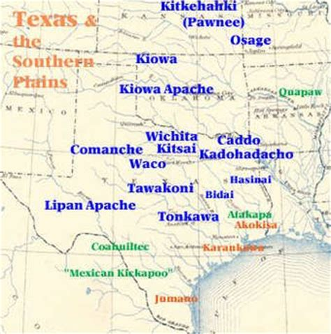 indian tribes in texas map 17 best images about texas indians on the indians american indians and wichita