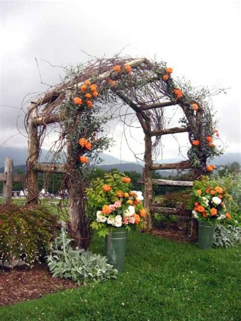 Grapevine Floral Design Home Decor The by Picture Of Awesome Outdoor Fall Wedding Decor Ideas