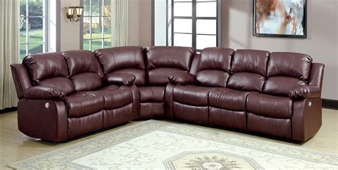 Power Sectional Sofa Homelegance Cranley Power Sectional Sofa Set Brown 9700brw Power Sectional Set