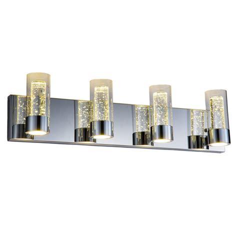 bathroom vanity lights chrome 4 lights vanity bar lighting