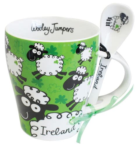 gifts ireland coffee leprechaun tea towel 791 163 6 99