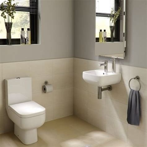 cloakroom bathroom ideas rak series 600 4 piece cloakroom suite bathroomand co uk