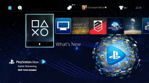 ps4 themes psn europe free playstation now ps4 dynamic theme just released by
