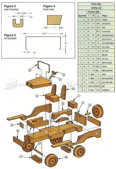 wooden toy jeep plans wooden toy plans plans jouets en