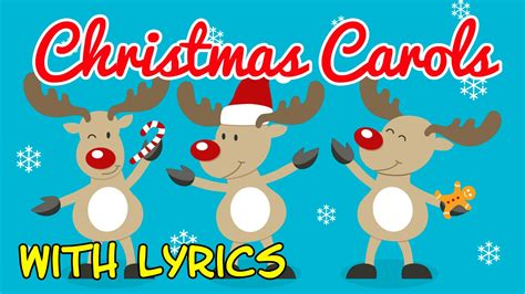 5 classic christmas songs the lyrics carols for children with lyrics songs for with lyrics