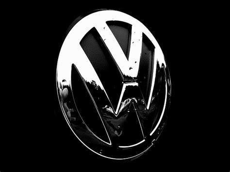volkswagen logo black and white volkswagen logo black background pixshark com