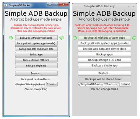 backup apk without root how to completely backup your android device on pc without root access redmond pie