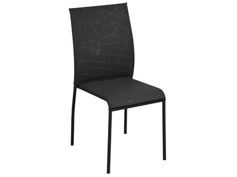 chaise noir conforama chaise kite 2 coloris noir chez conforama