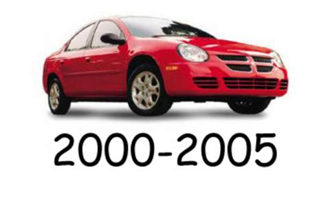 auto repair manual online 2000 dodge neon instrument cluster dodge neon 2000 2005 service repair manual download download man