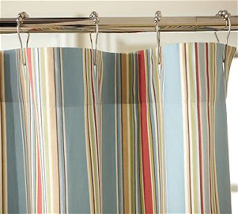 pottery barn striped curtains alyssa jayne shower curtains galore