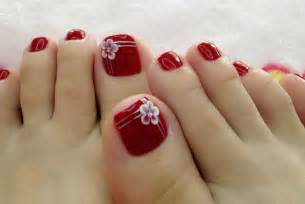 simple but trendy pedicure designs for beginners 2015