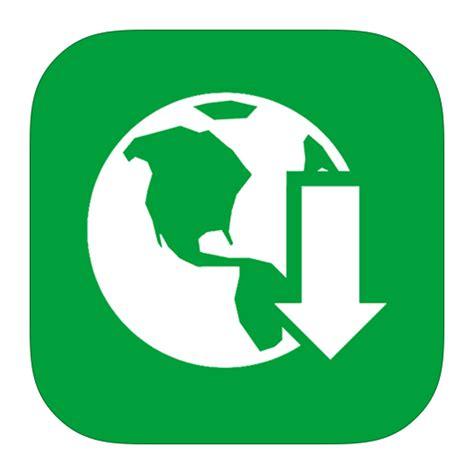 MetroUI Apps Download Manager Icon | iOS7 Style Metro UI ...