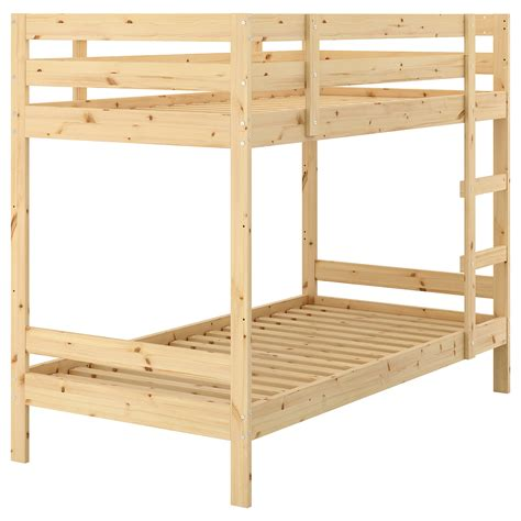 ikea pine bed mydal bunk bed frame pine 90x200 cm ikea