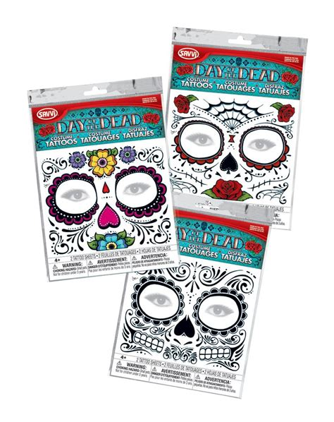 day of the dead temporary tattoos 25 best ideas about temporary tattoos on