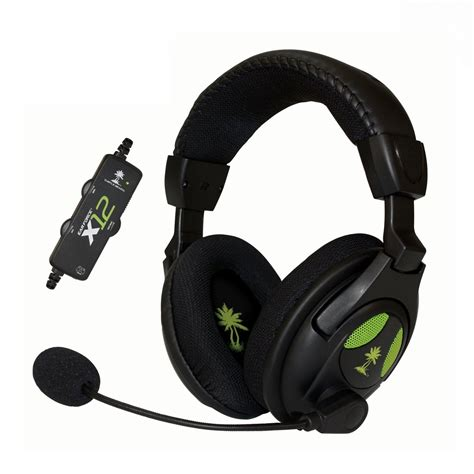 Headset Mic Gaming turtle ear x12 gaming headset with lified