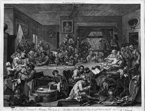 8 Paintings By Hogarth by William Hogarth S Election Series Bkm Tech