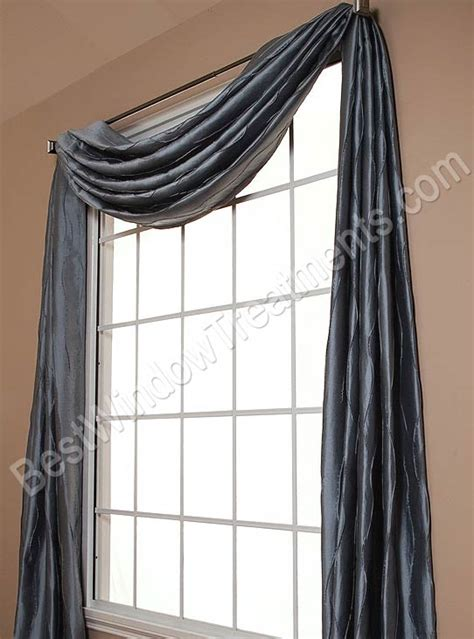 straino scarf swag window topper bestwindowtreatments