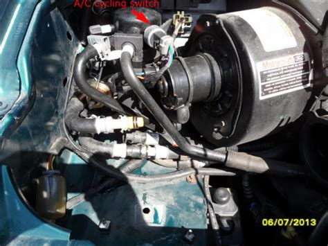 how to change blower motor on a 1997 gmc savana 3500 blower motor fan replacement tip ford truck