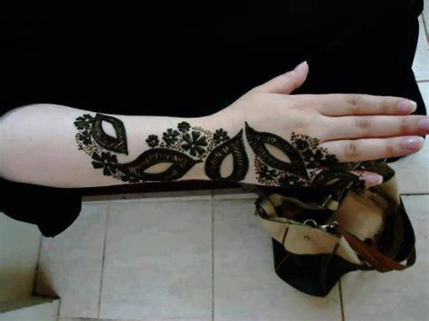 Arabic Henna Designs For Hands Step By Step