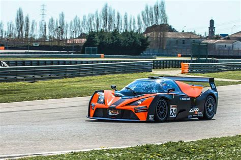 Ktm Track Car Ktm X Bow Gt4 On The Track