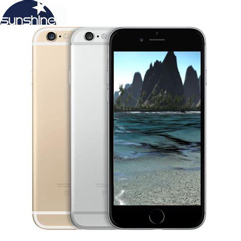 Iphone Ram 1gb original unlocked apple iphone 6 iphone 6 plus lte used mobile phone 1gb ram 16 64 128gb rom ios
