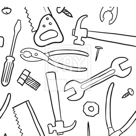 tools coloring pages tools coloring pages carpenter tools images free