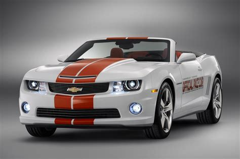 2011 Chevy Camaro Convertible Indy 500 Pace Car Goes For $225,000 At Barrett Jackson   GM Authority