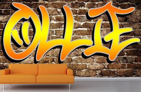 cheap graffiti wallpaper uk custom name graffiti wallpaper mural muralswallpaper co