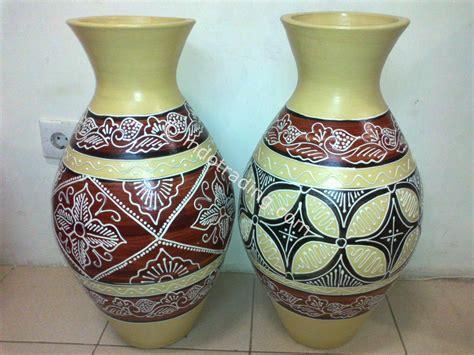 Harga Guci Tanah Liat jual guci batik harga murah jakarta oleh warna keramik