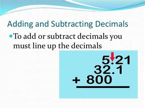 powerpoint tutorial ks2 counting number worksheets 187 subtracting decimals