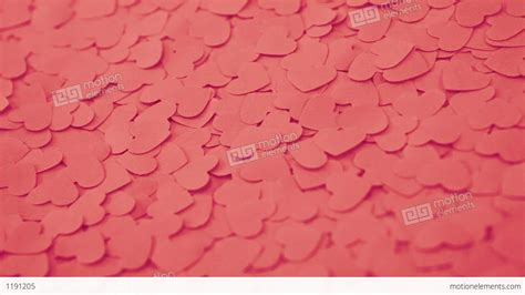 Handcrafted Hearts - background with handmade paper hearts stock