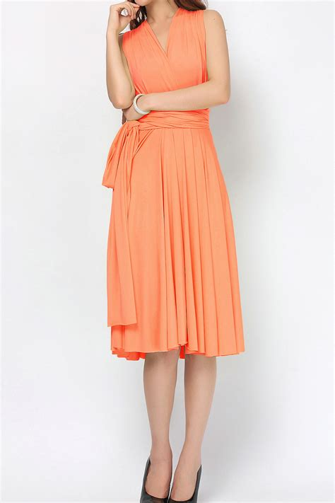 light orange bridesmaid dresses light orange infinity dress bridesmaids dresses st
