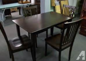 Kitchen Table Chairs Sale Kitchen Table With 4 Chairs New Dining Set Mt Pleasant For Sale In Charleston South