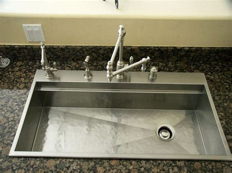 Discontinued Kitchen Sinks Rachiele Custom Stainless Steel Top Mount Replacement Sinks For Discontinued Sinks Made In The