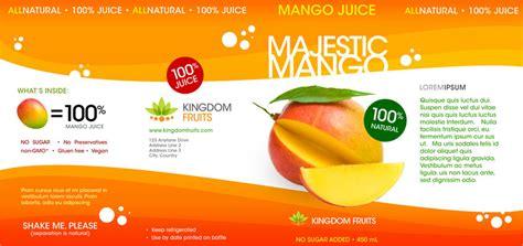 Design Label Juice   kingdom fruit juice label design studio150 design