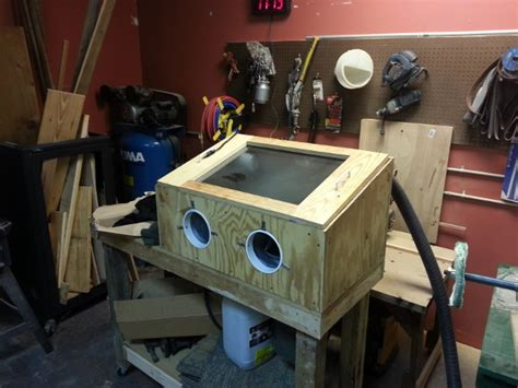 Diy Sandblasting Cabinet by Mm Sandblasting Cabinet 171 Midsouth Makers Area