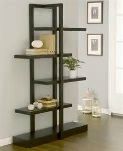 Home Decor Stands by Furniture Of America Addison Cappuccino Bookcase Display