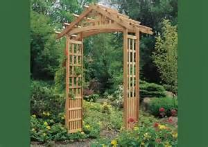 How To Build An Arbor Trellis Wooden Garden Arbors Youtube