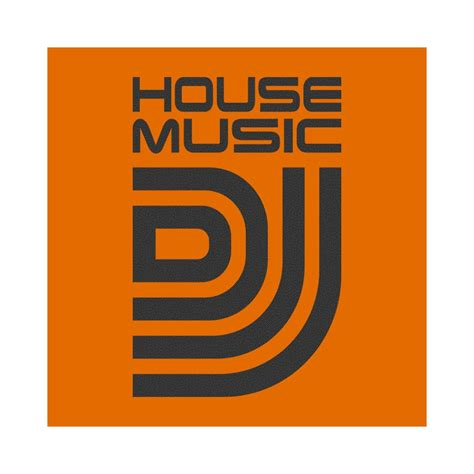 house music dj names tee shirt house music dj orange