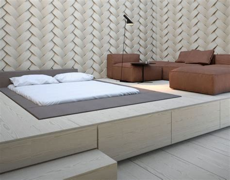 Podest Mit Bett by Podestbett Bauen Praktische L 246 Sung F 252 Rs Moderne Schlafzimmer