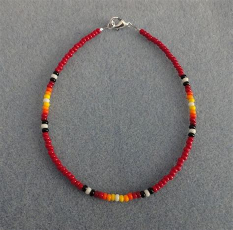 Bead Anklet best 25 beaded anklets ideas on bare foot