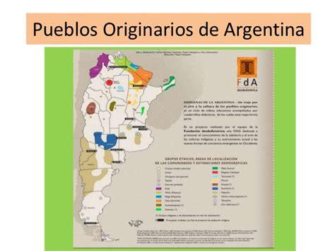 mapa america pueblos originarios pueblos originarios de argentina