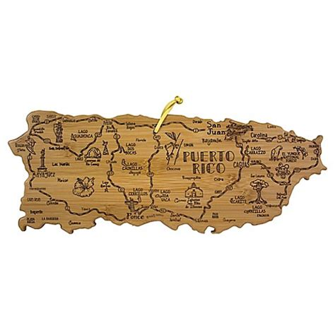 bed bath and beyond puerto rico buy totally bamboo 174 puerto rico destination cutting board from bed bath beyond